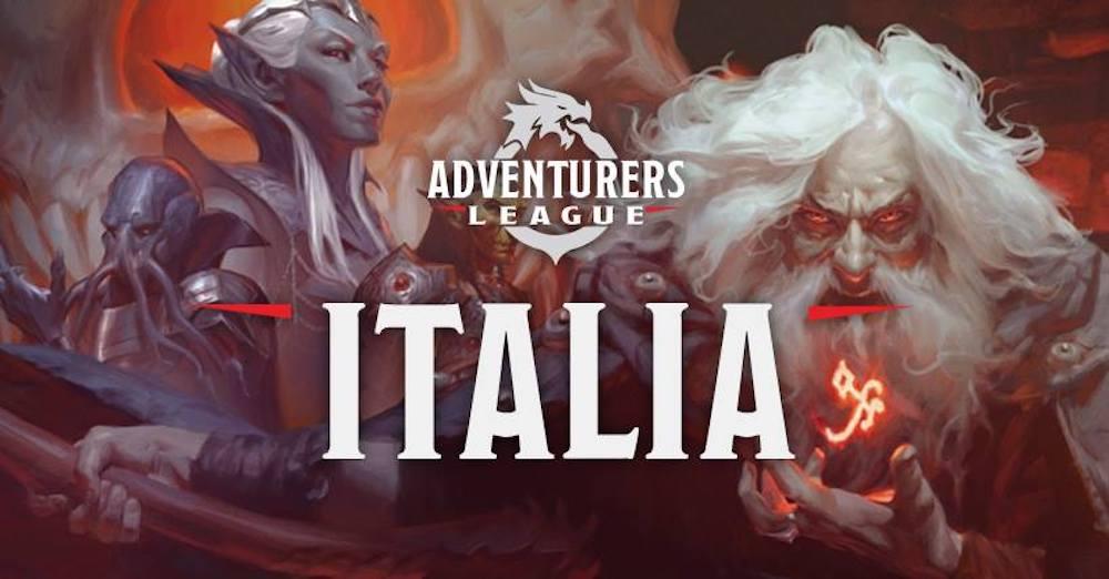D&D Adventurers League a Lucca Comics & Games 2019