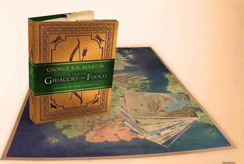 Le Terre del Ghiaccio e del Fuoco: l'atlante di Game of Thrones in arrivo in italiano