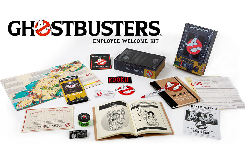 Ghostbusters Employee Welcome Kit disponibile dal 29 ottobre