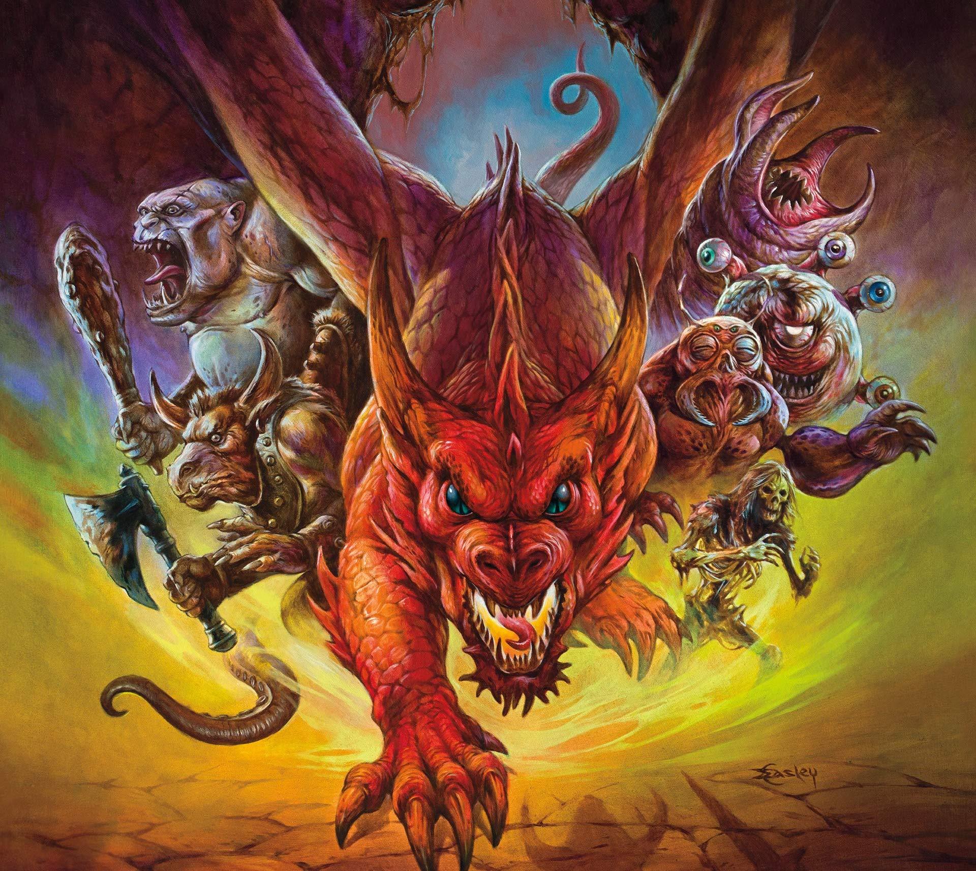 Eye of the Beholder – The Art of Dungeons & Dragons verrà proiettato a Lucca Comics & Games 2019