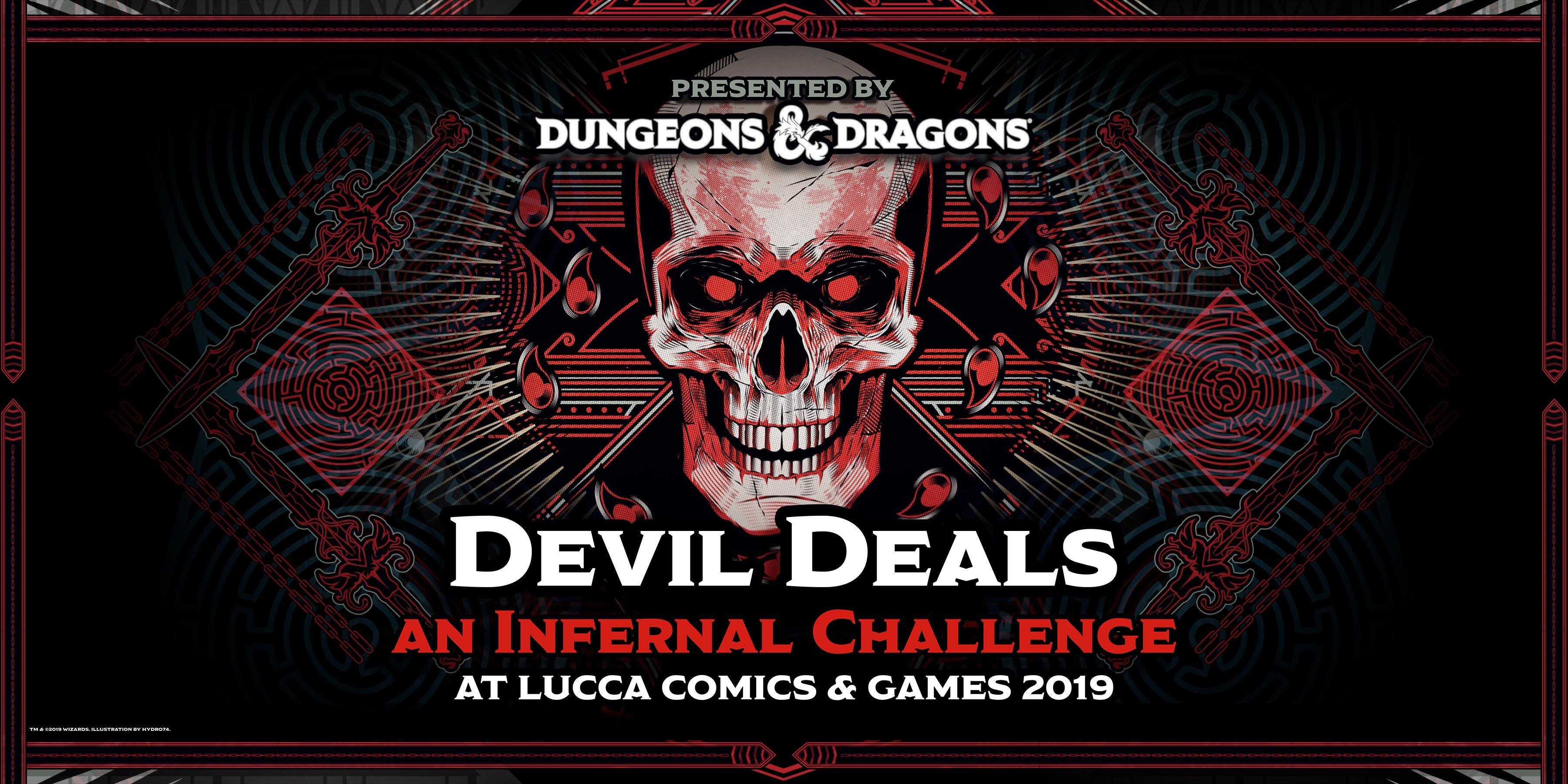 Joe Manganiello ospite a Lucca Comics & Games 2019 per giocare a Dungeons & Dragons dentro al nuovo Dungeon San Colombano