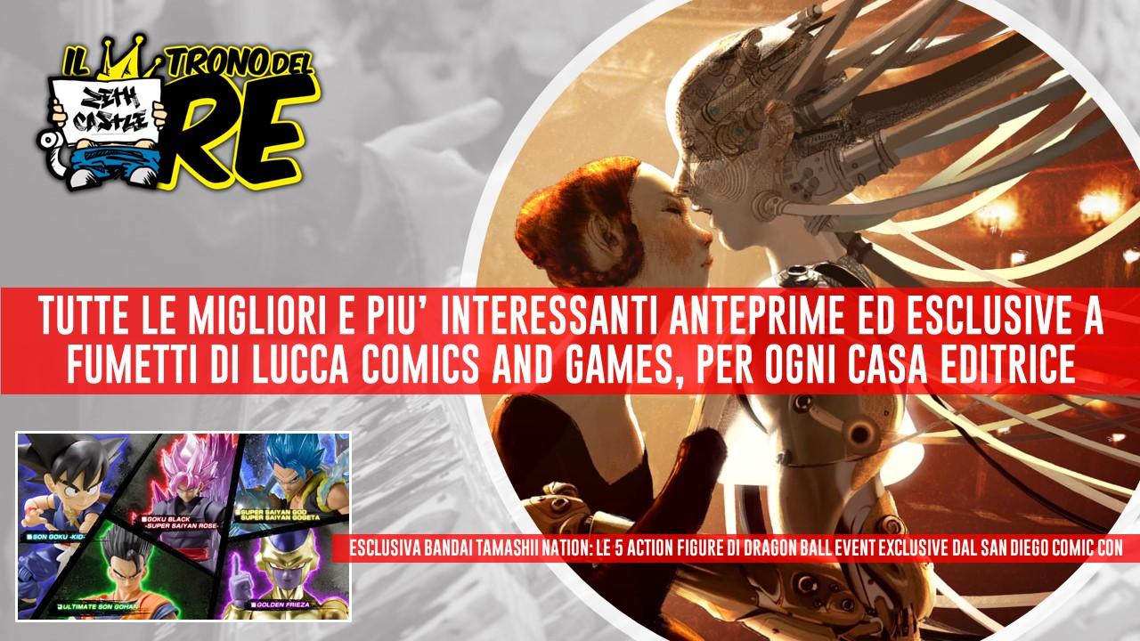 Il Trono del Re: tutte le anteprime e le esclusive a fumetti di Lucca Comics 2019
