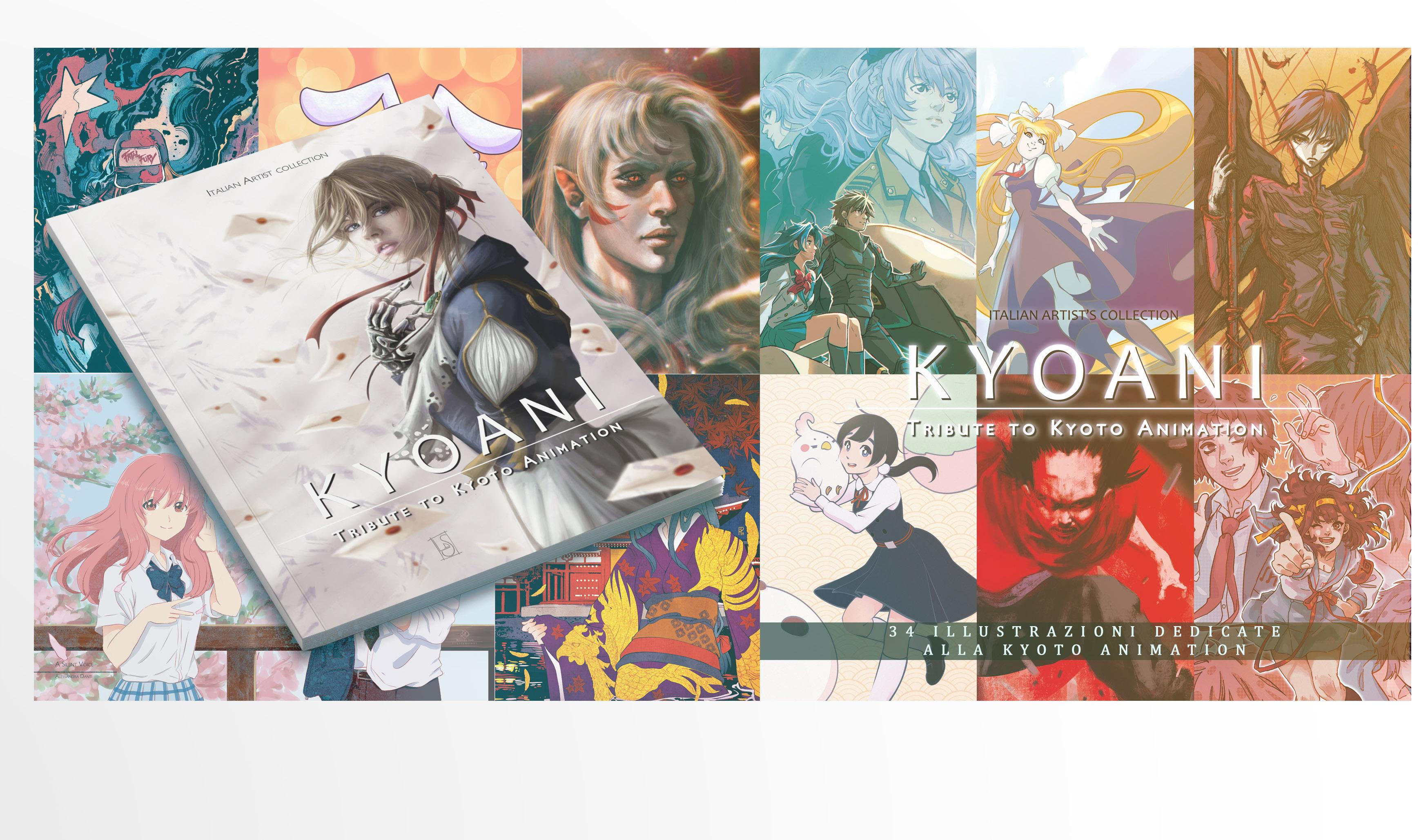 KYOANI - A Tribute To Kyoto Animation, il progetto italiano a sostegno del famoso studio giapponese