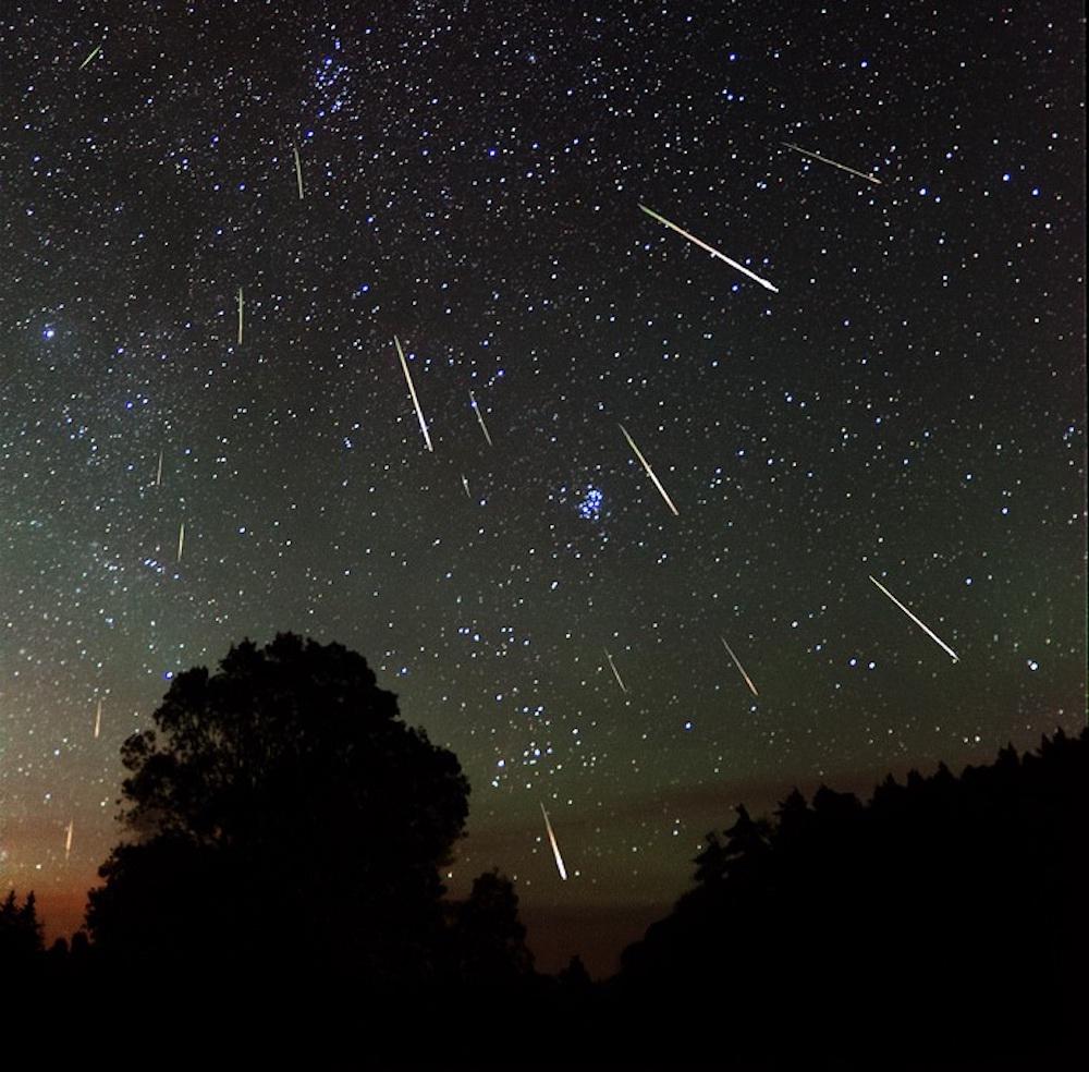 Le Orionidi nel cielo notturno di ottobre