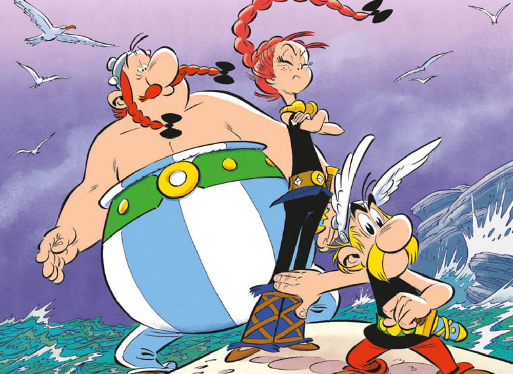 Asterix e la figlia di Vercingetorige: un nuovo albo per festeggiare i 60 anni