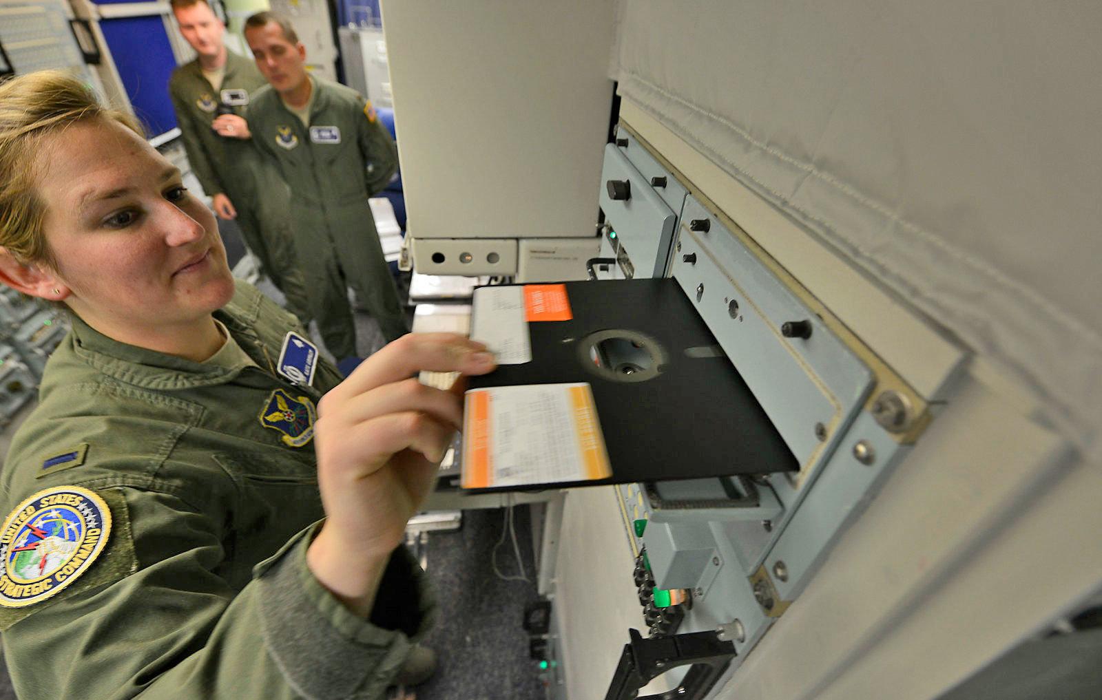 L'esercito americano non userà più i floppy disk per gli ordini di lancio delle testate nucleari
