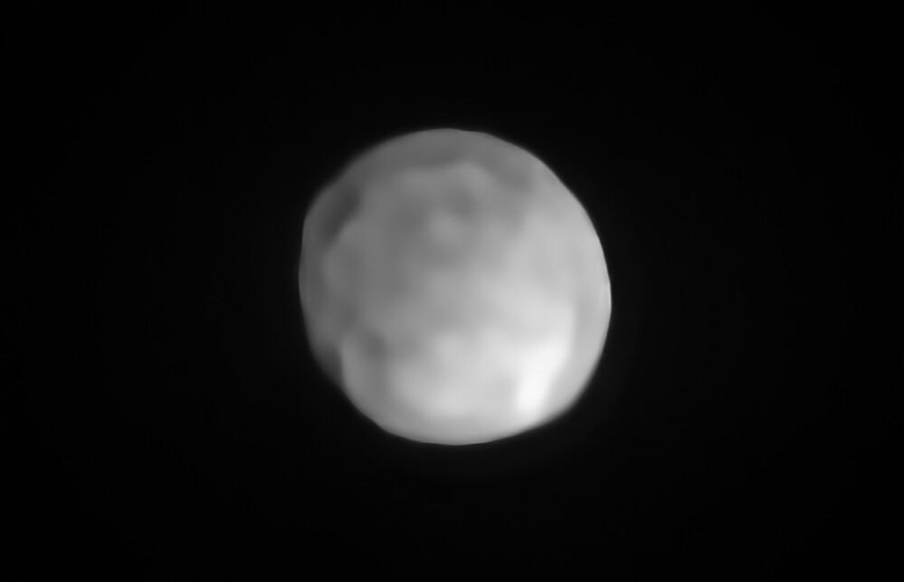 Igea potrebbe essere il più piccolo pianeta nano del sistema solare