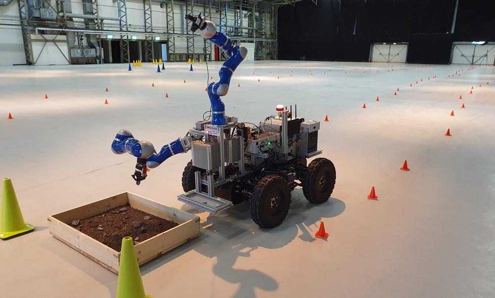 Test dall'ISS per telecomandare un rover sulla Terra