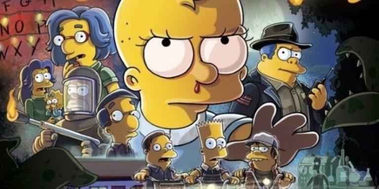 La Paura fa Novanta, I Simpson