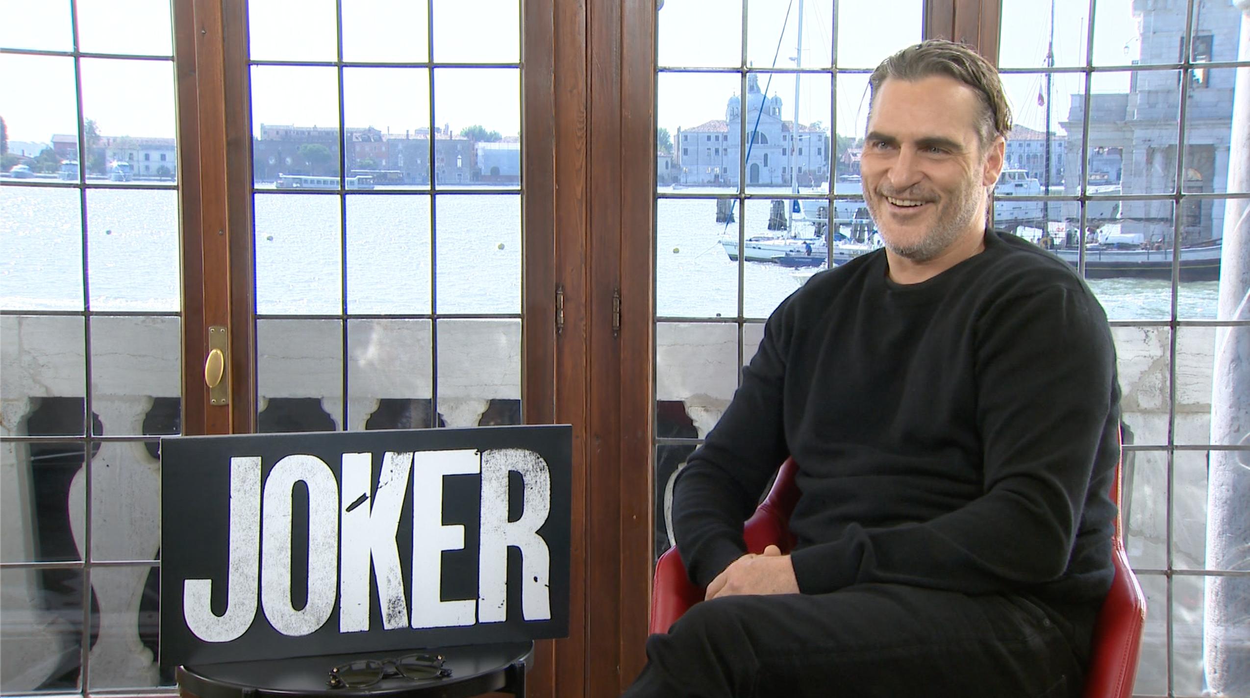Joker: intervista a Joaquin Phoenix