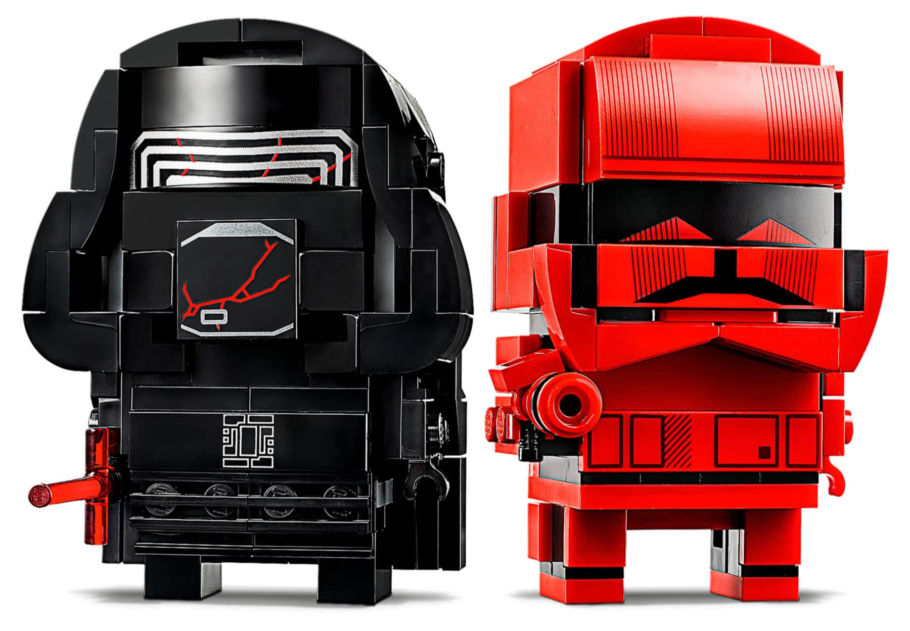 Prime immagini ufficiali del set LEGO Star Wars Brickheadz con Kylo Ren e il Sith Trooper