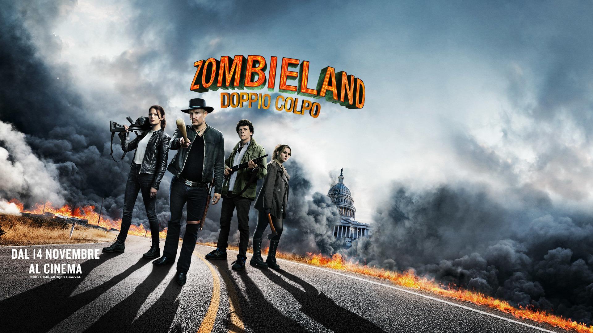 Zombieland Doppio Colpo: Ecco tutte le attività e l'anteprima a Lucca Comics & Games