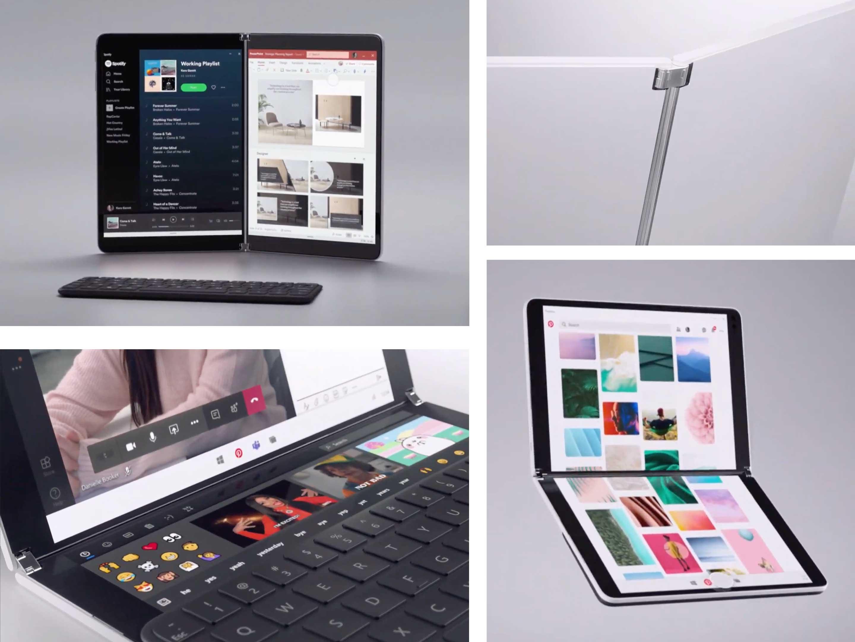 Surface Neo è il tablet a due schermi di Microsoft