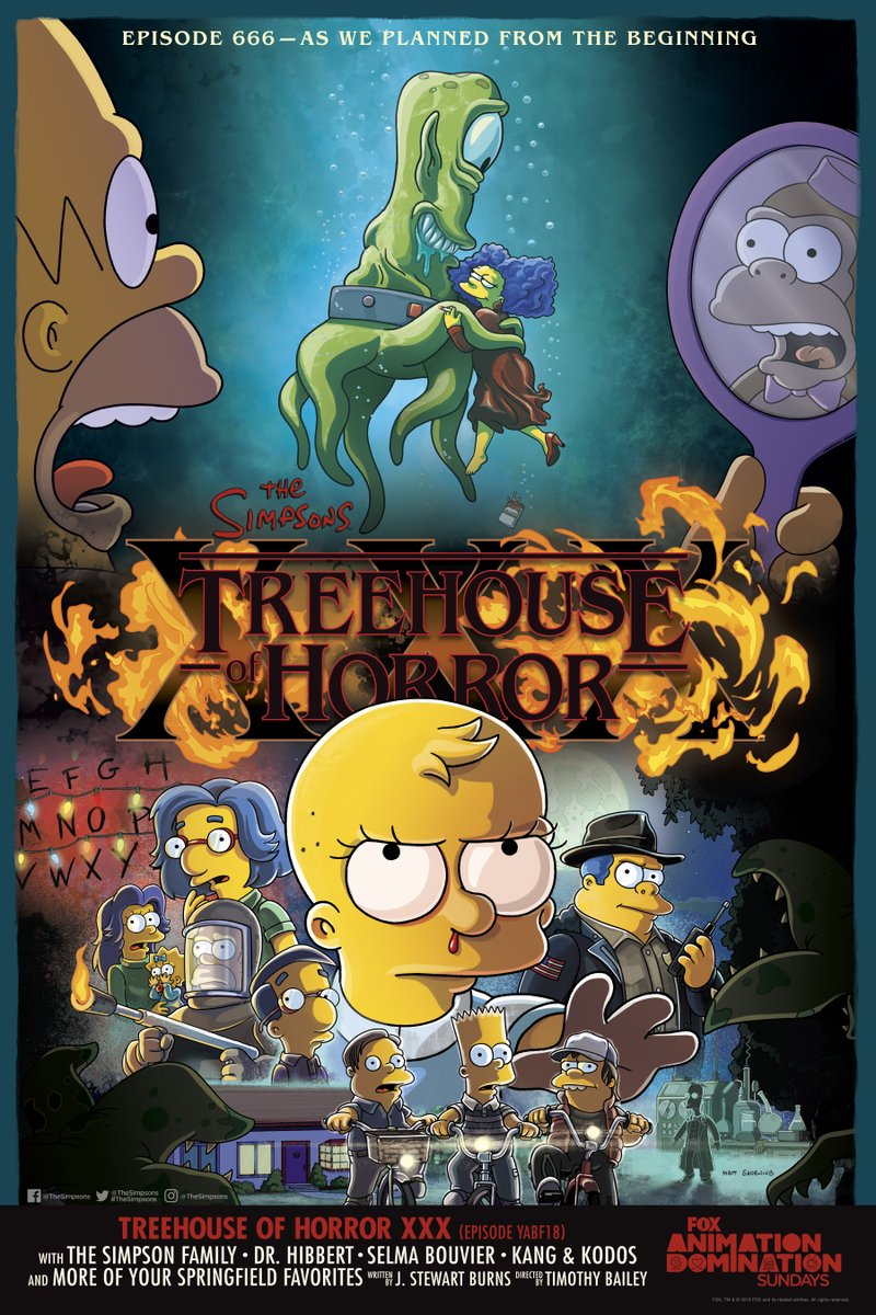 Treehouse of Horror, Simpson