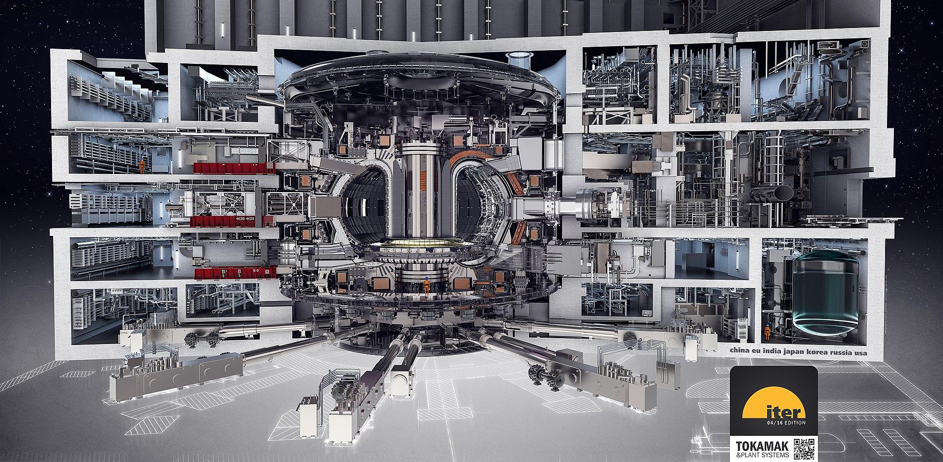 Prosegue la costruzione di ITER, il reattore nucleare a fusione sperimentale francese