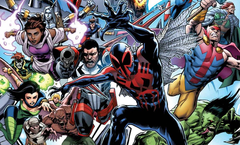 2099 Alpha, le tavole del crossover Marvel