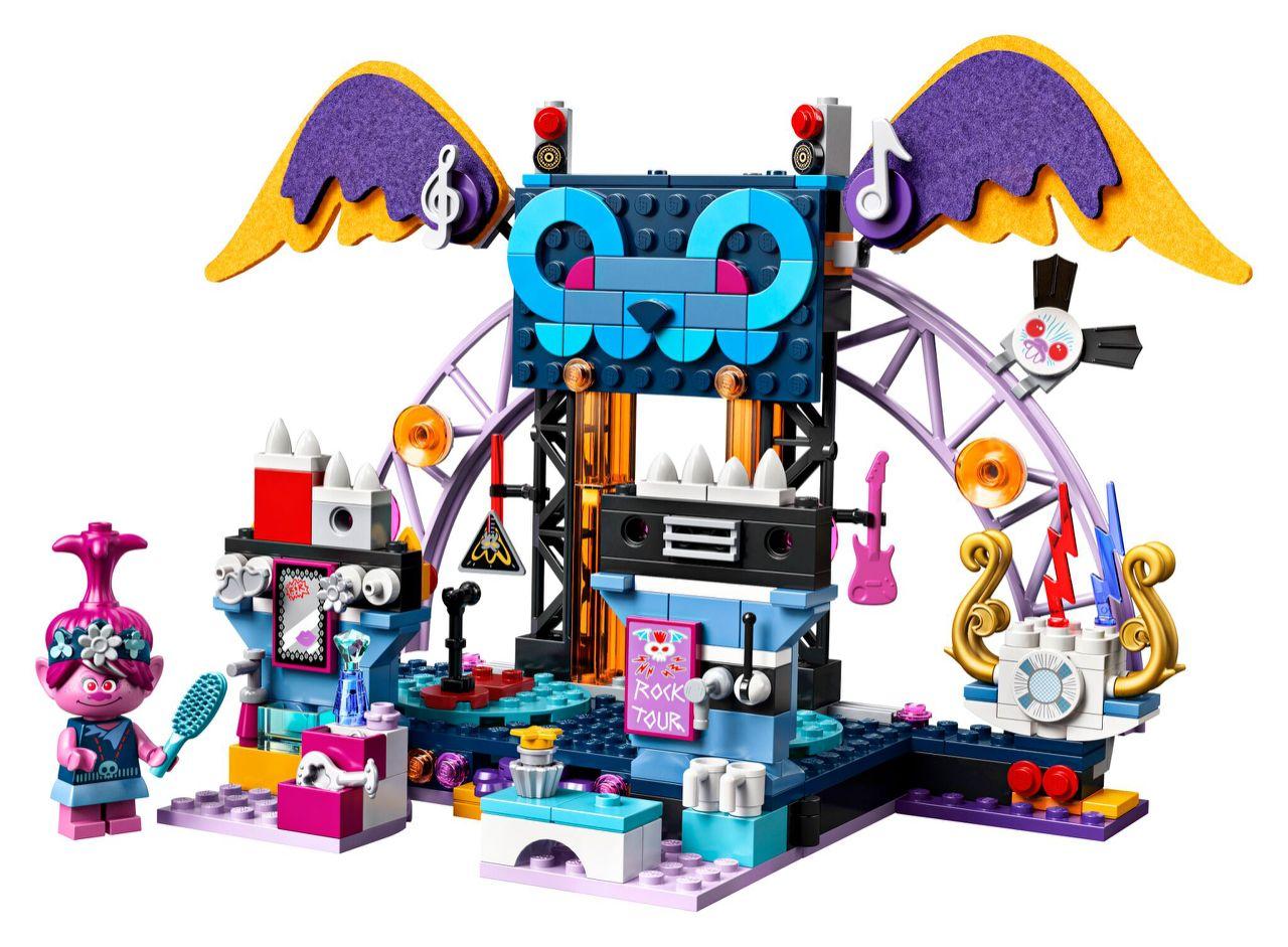 Prime immagini dei set LEGO dedicati al film Trolls: World Tour