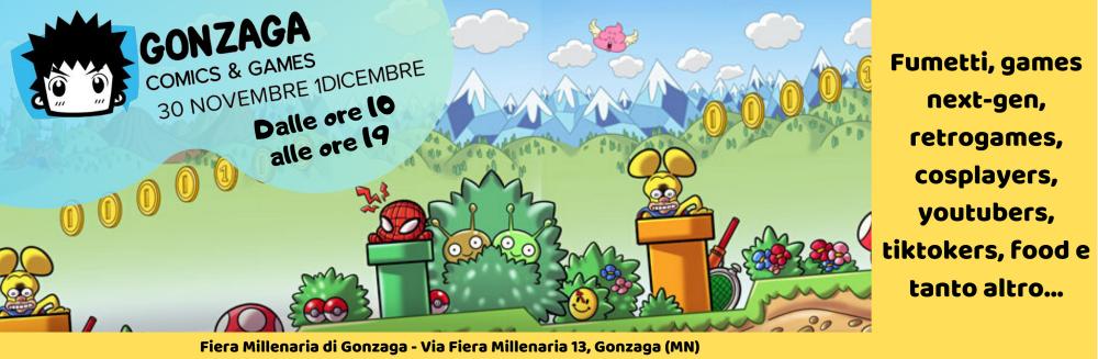 Al via la nuova edizione del Gonzaga Comics & Games