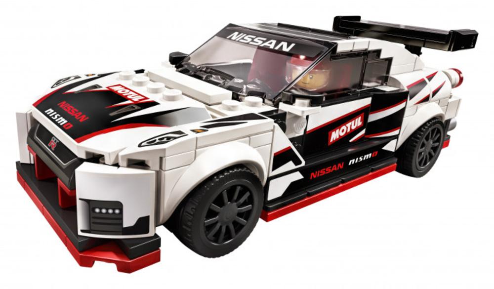 Svelate in Giappone le immagini del set LEGO Speed Champion 76896 Nissan GT-R Nismo