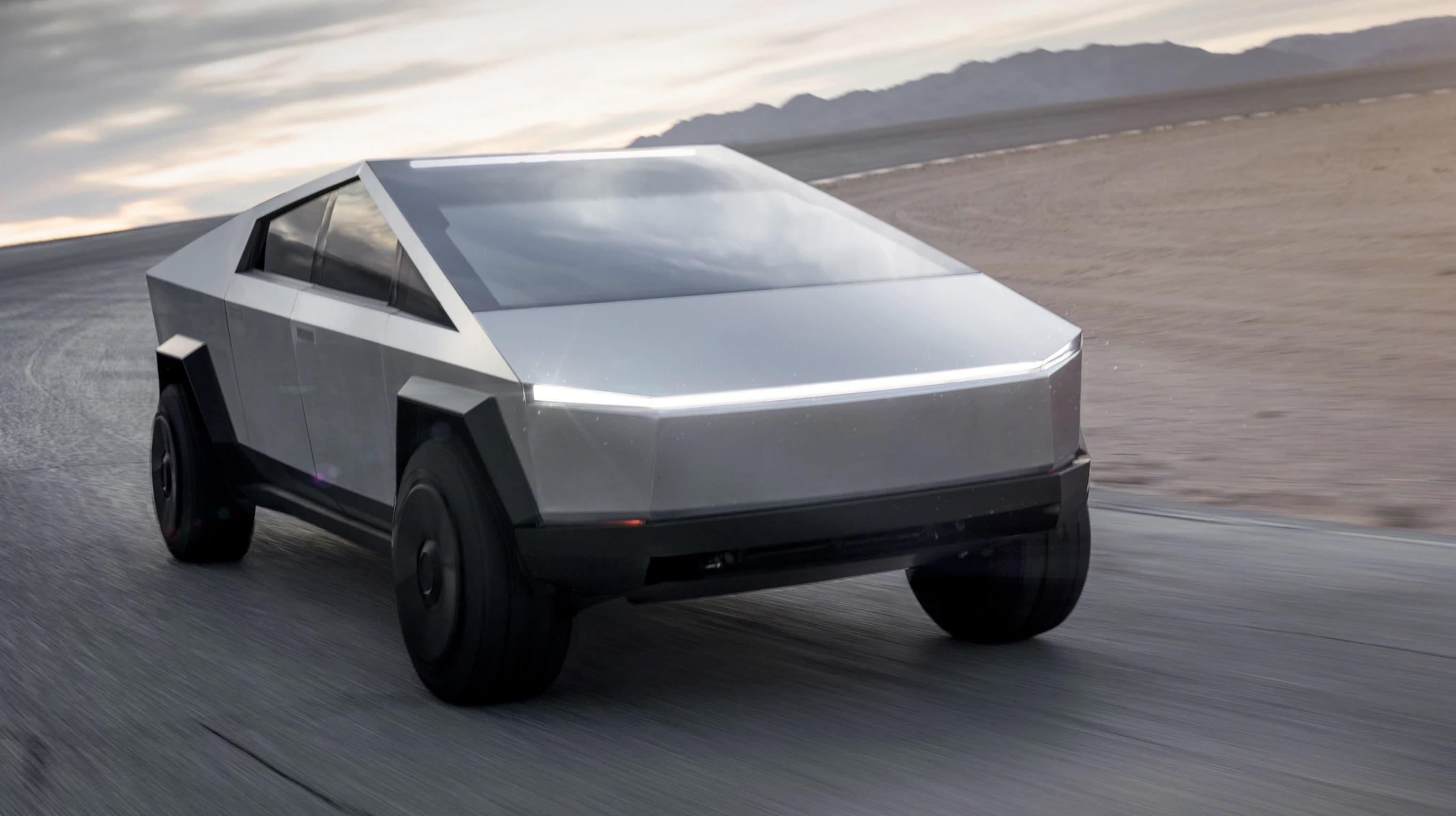 Ecco il Cybertruck, il nuovo pickup elettrico di Tesla