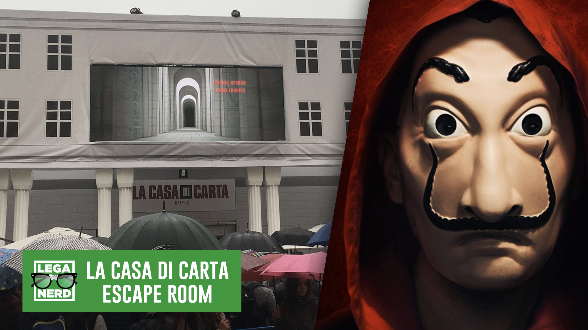 La Casa di Carta: La Escape Room a Lucca Comics & Games 2019