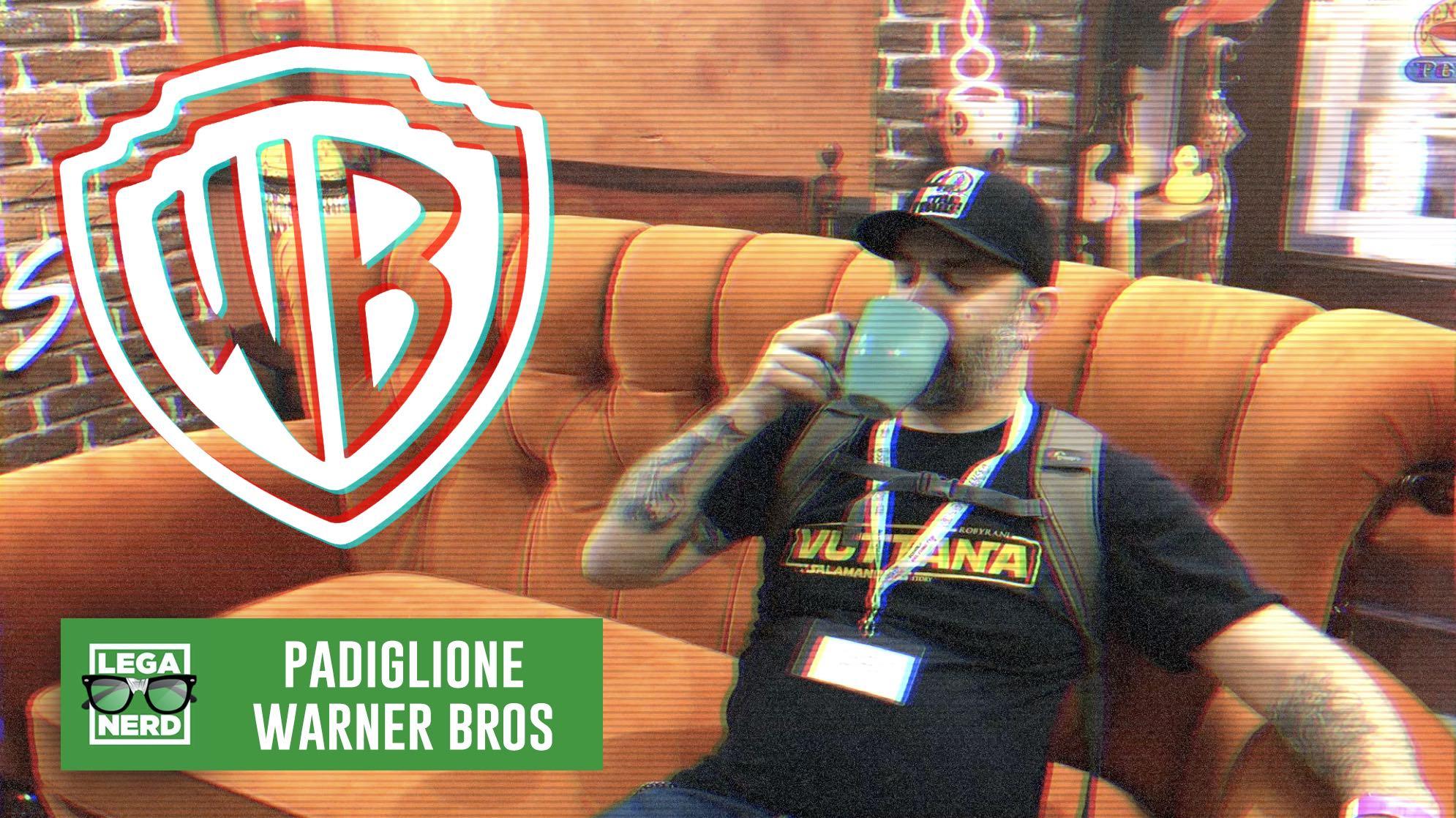 Il Padiglione Warner Bros a Lucca Comics & Games 2019