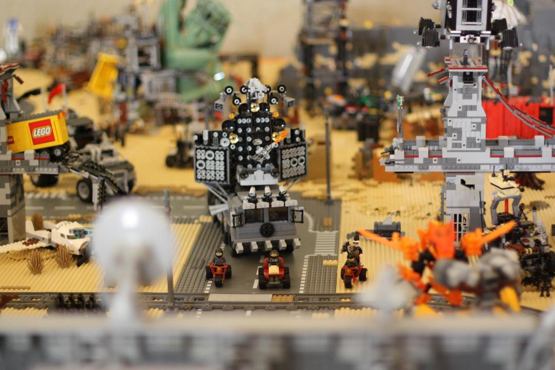 Fotoreportage dell'area LEGO presente a Lucca Comics & Games 2019