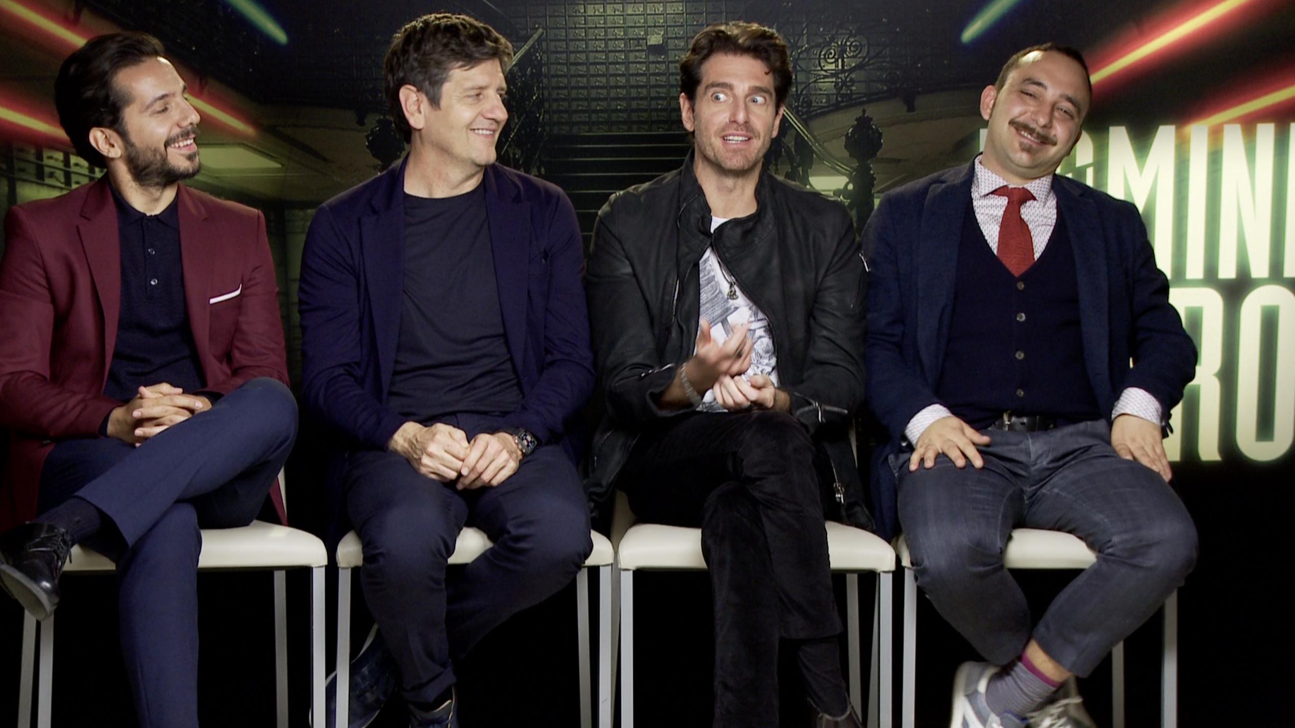 """Vincenzo Alfieri e i suoi Uomini d'oro: """"Ho cominciato a fare film grazie al Batman di Tim Burton"""""""