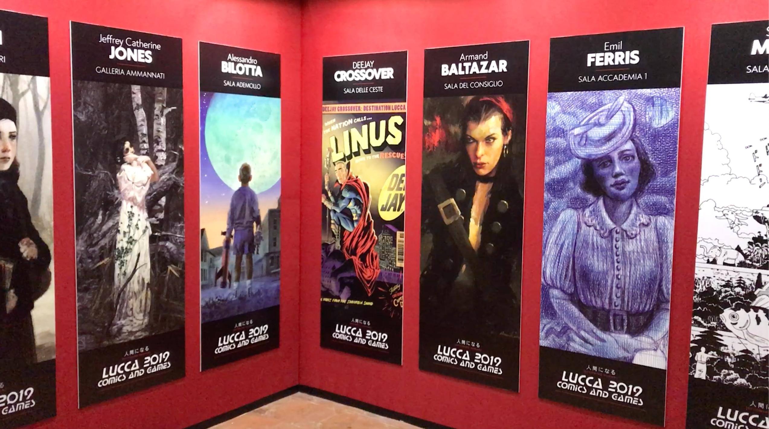 Lucca Comics & Games 2019: da Emil Ferris ad Armand Baltazar, le mostre a Palazzo Ducale
