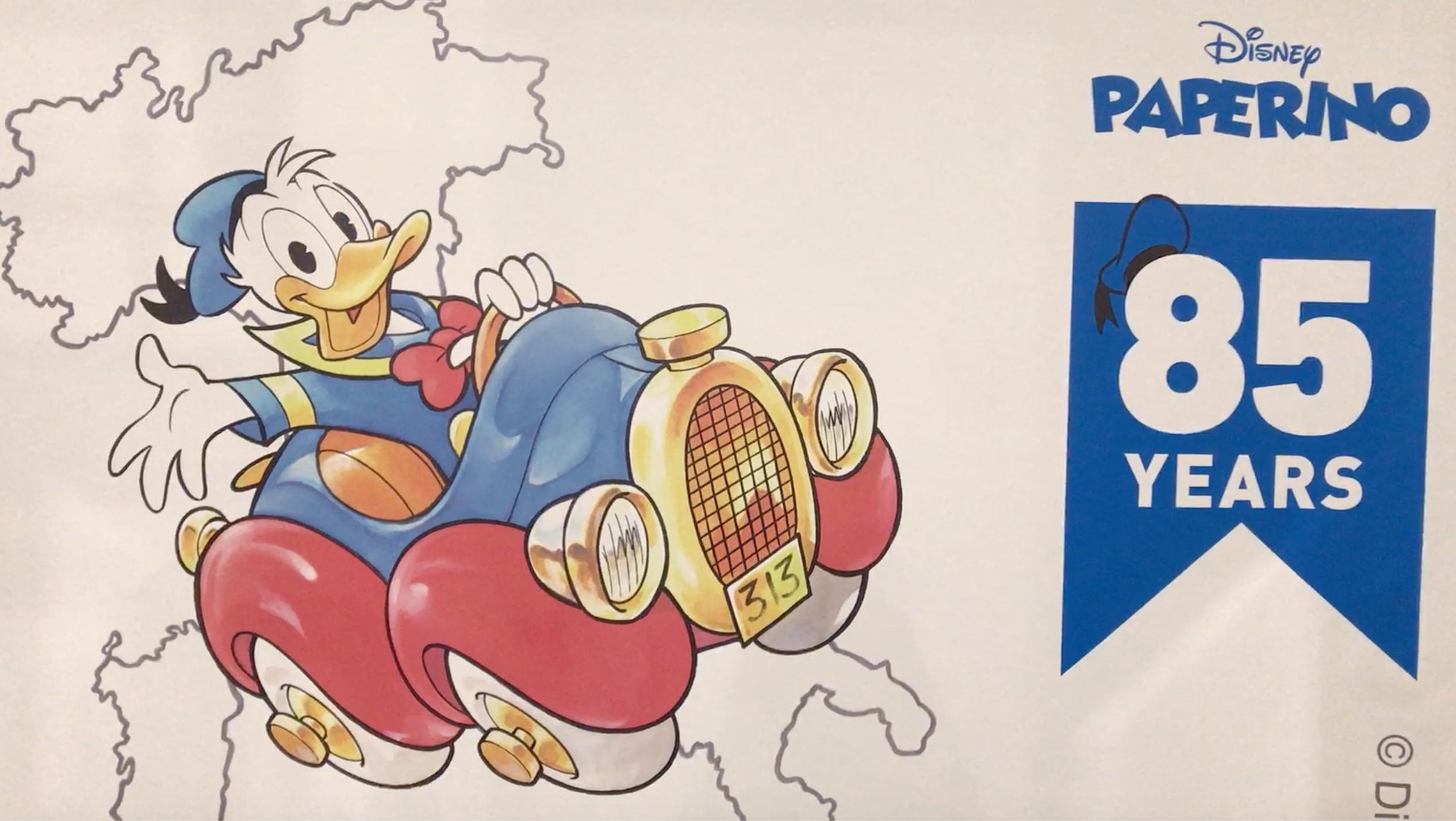 85 anni di Paperino: la mostra a Lucca Comics & Games