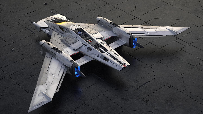 L'astronave di Star Wars realizzata da Porsche prendendo ispirazione dalla Taycan