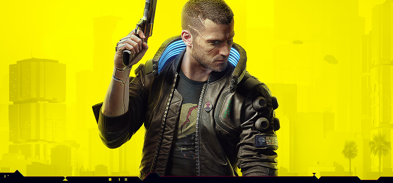 Cyberpunk 2077 Cover without logo