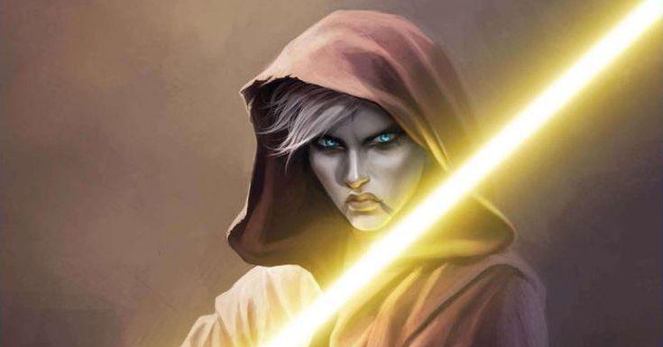 Le spade laser gialle in Star Wars