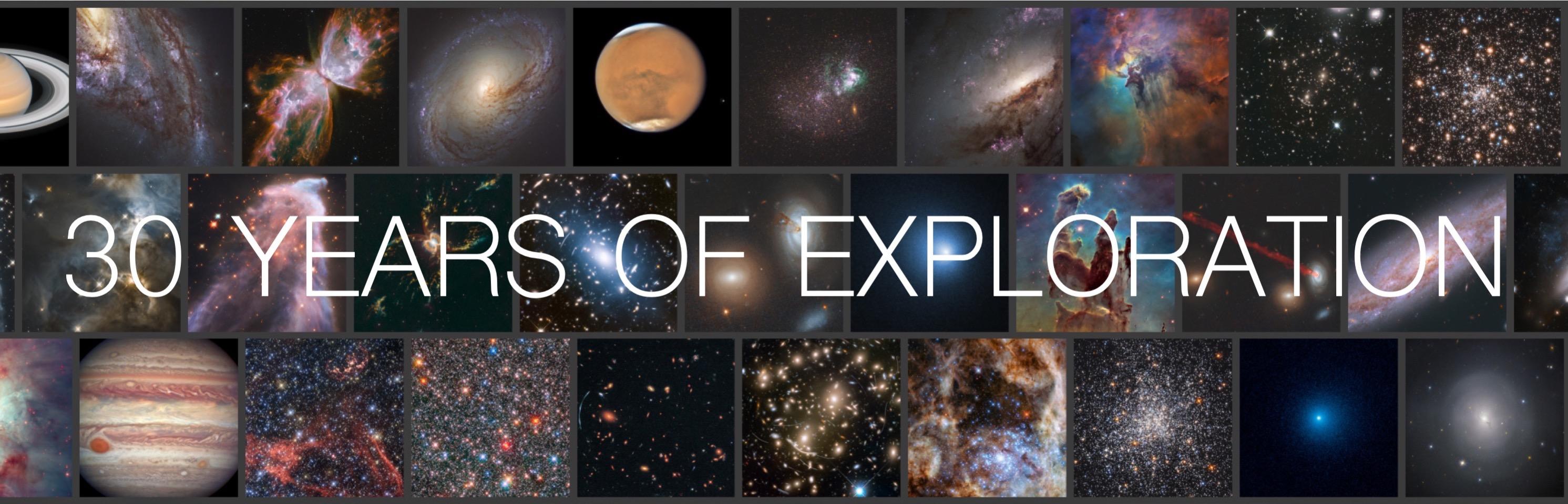 I 30 anni del telescopio spaziale Hubble celebrati con il calendario Hidden Gems