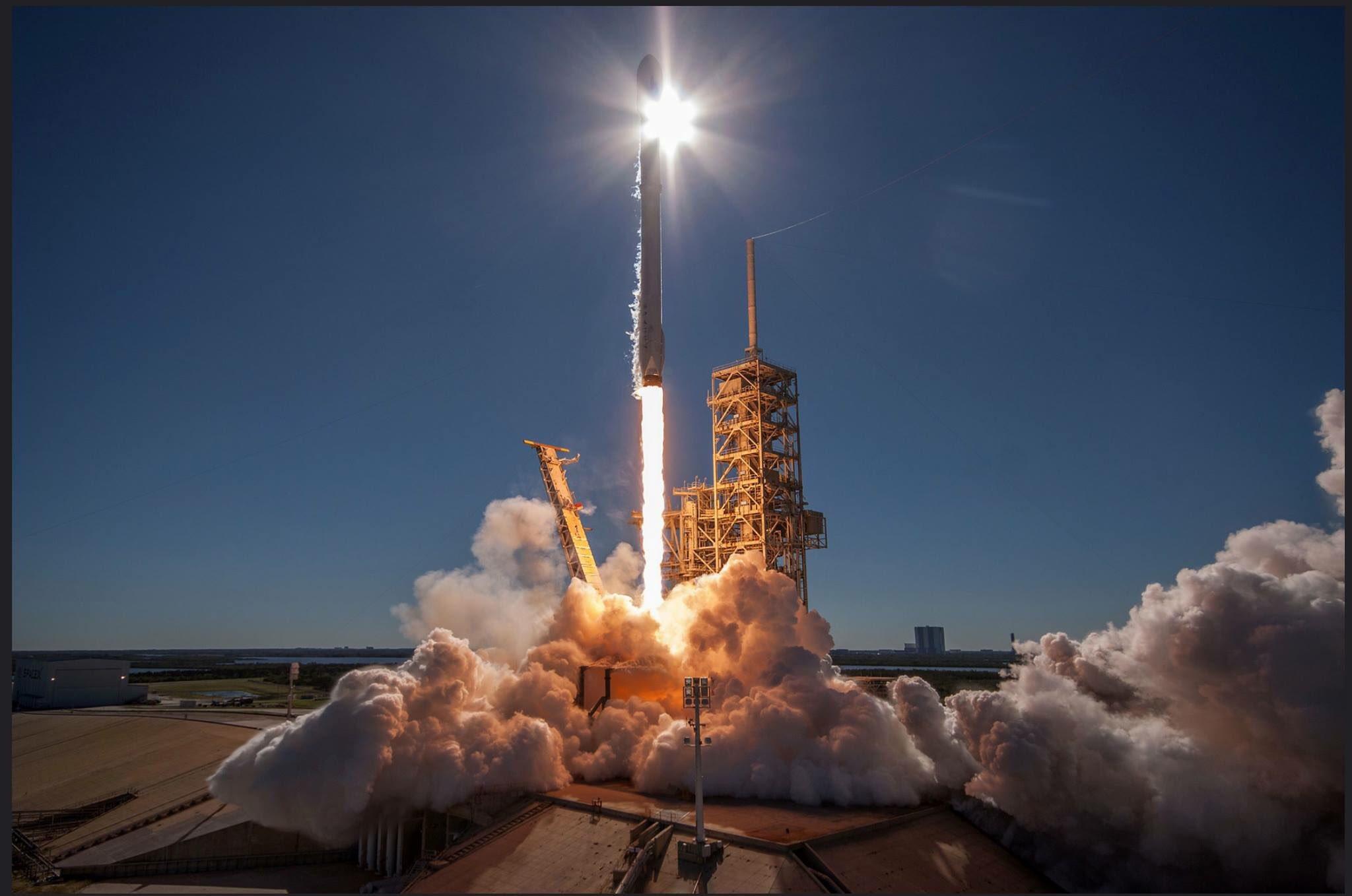 Il primo lancio di SpaceX sotto la nuova Space Force