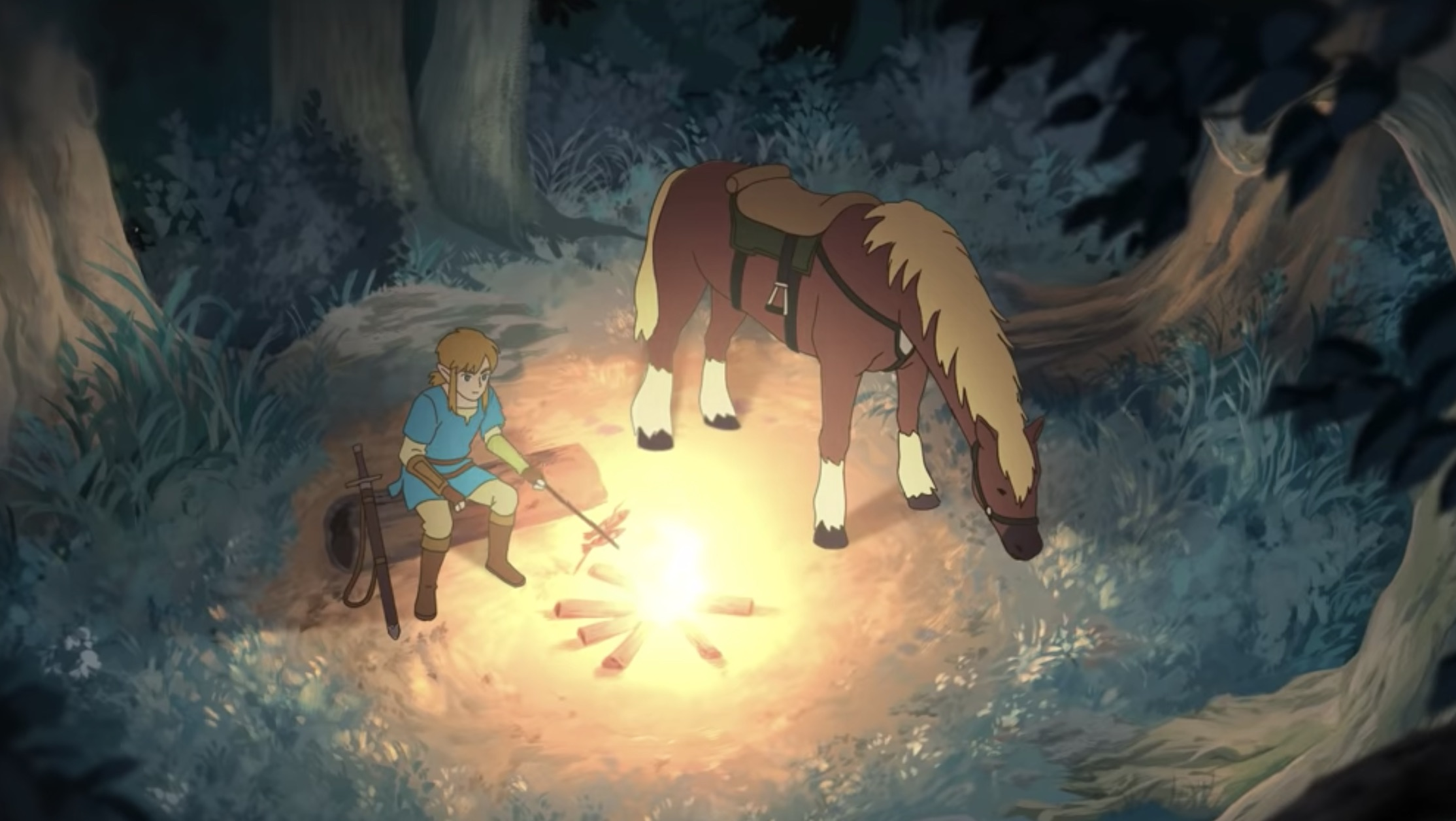 The Legend of Zelda incontra lo studio Ghibli in un meraviglioso trailer fan made