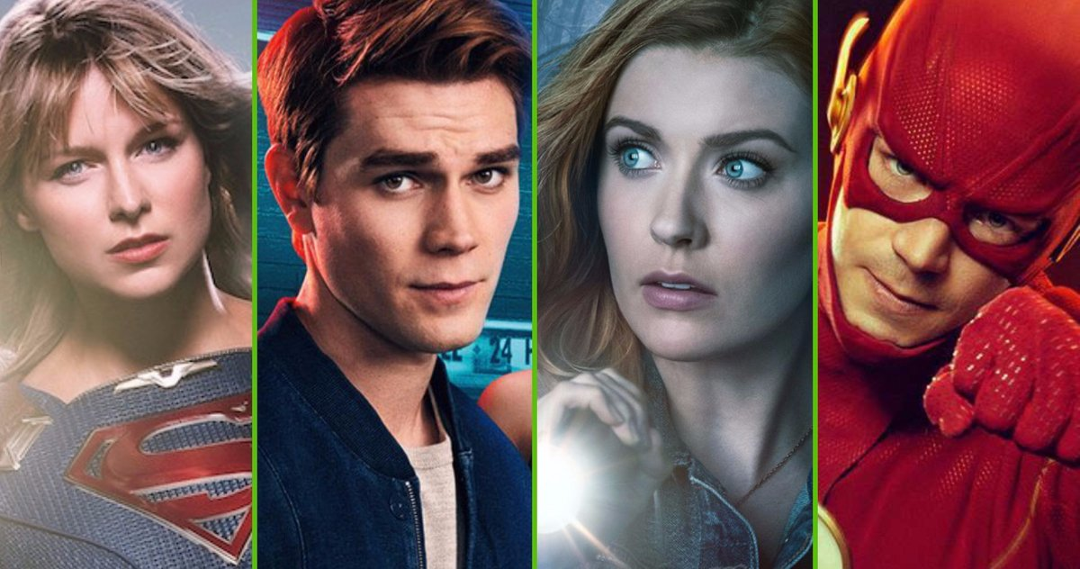 The CW rinnova 13 serie TV tra cui Supergirl, The Flash e Riverdale