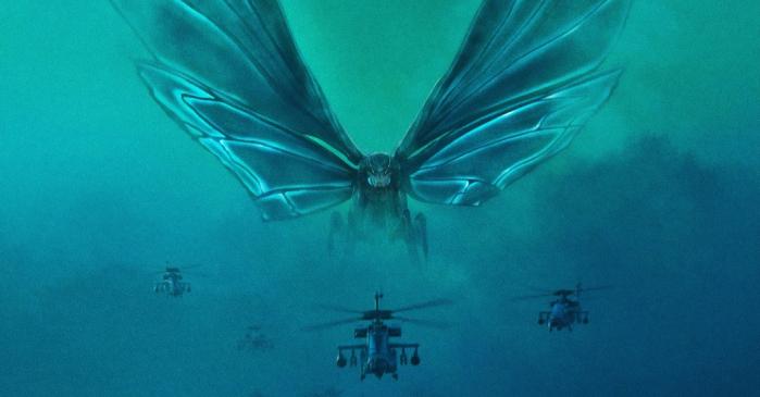 Mothra, una farfalla gigante, è uno dei più famosi avversari di Godzilla