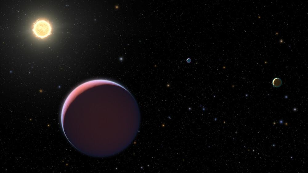 Una nuova classe di pianeti scoperti grazie alle osservazioni di Hubble