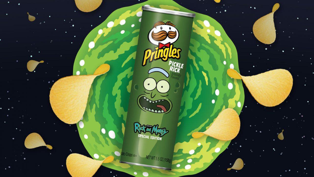 Rick and Morty: ecco le Pringles al gusto Pickle Rick