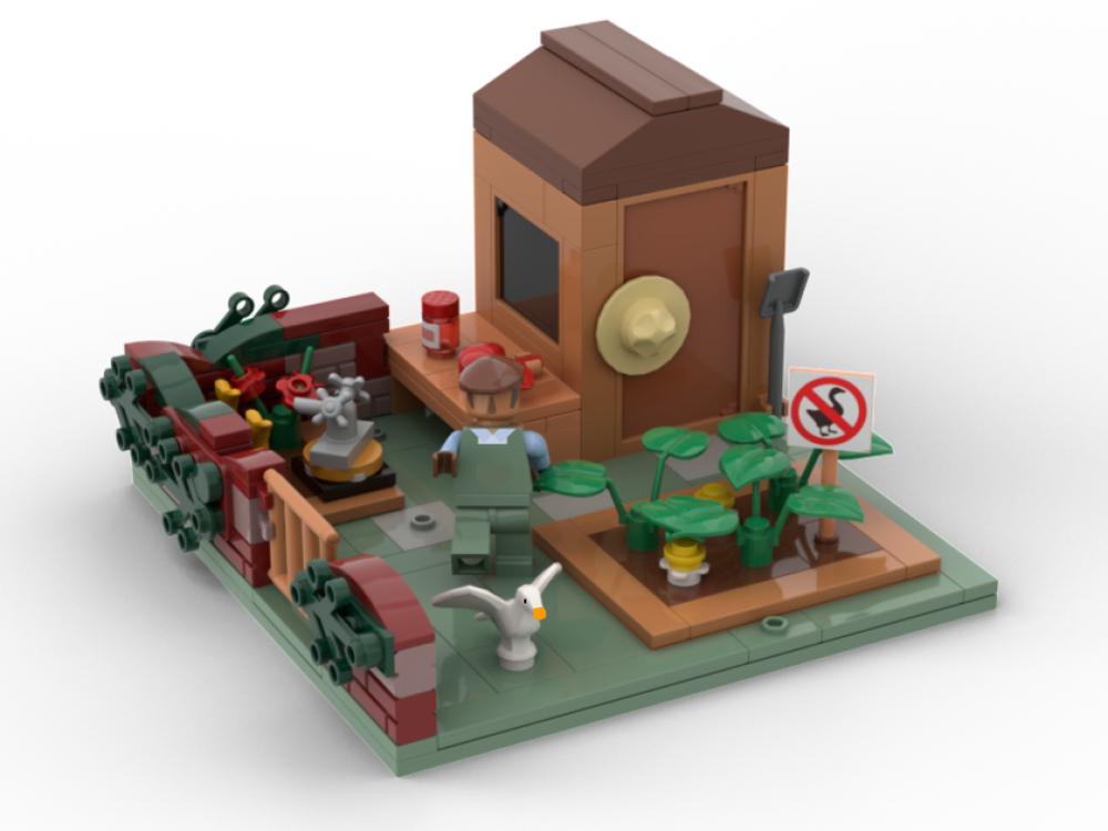 Il progetto Untitled Goose Game passa i 10000 voti su LEGO Ideas