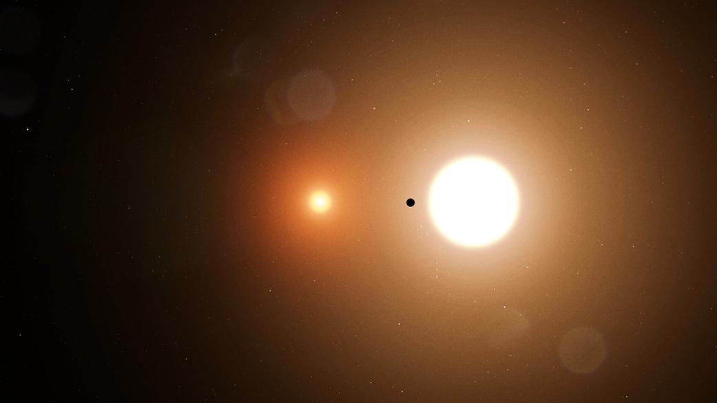 Scoperto un pianeta che orbita attorno a due soli