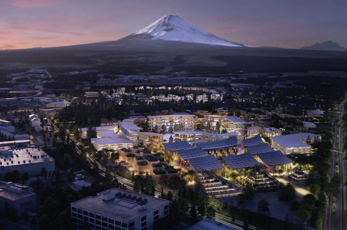 Woven City, la città futuristica di Toyota sarà alimentata ad idrogeno