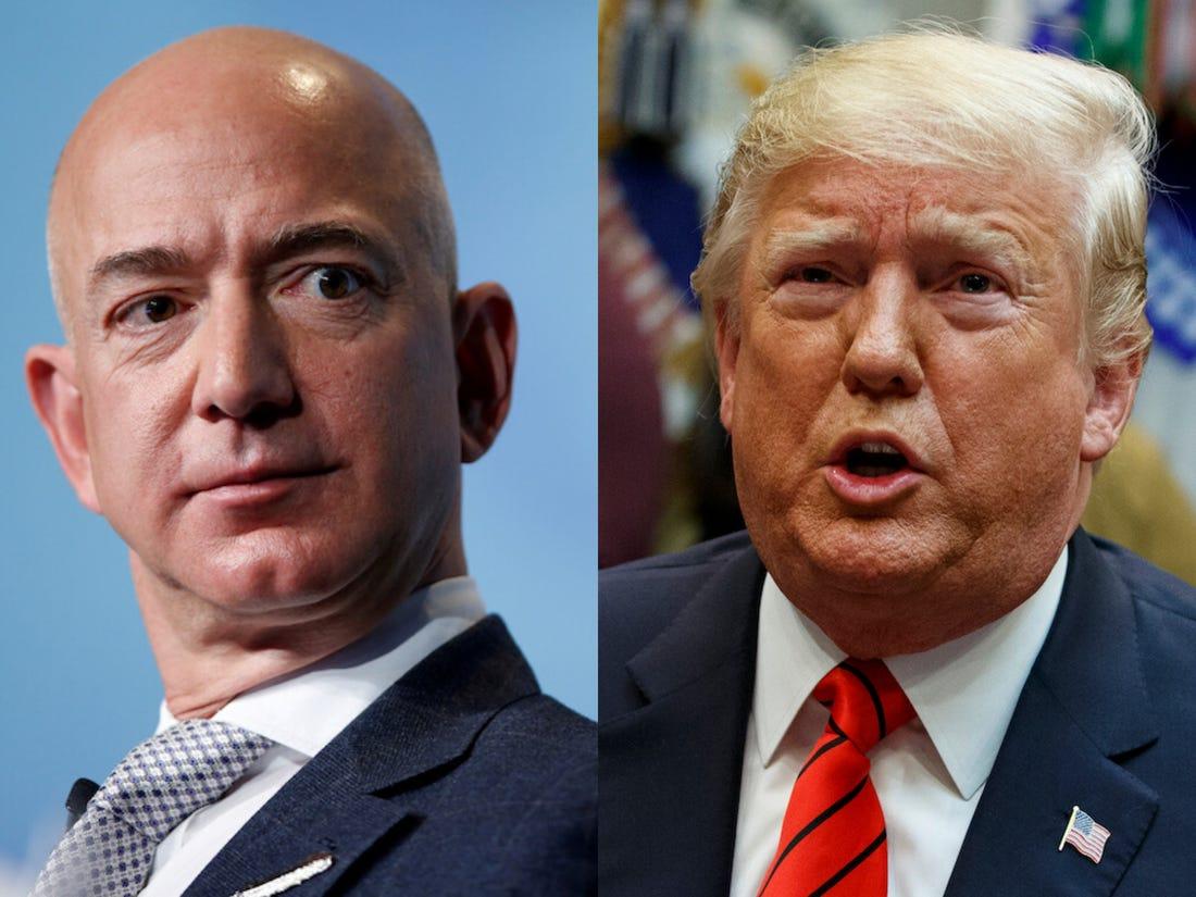 Amazon potrebbe togliere un contratto militare da 10 miliardi dalle mani di Microsoft