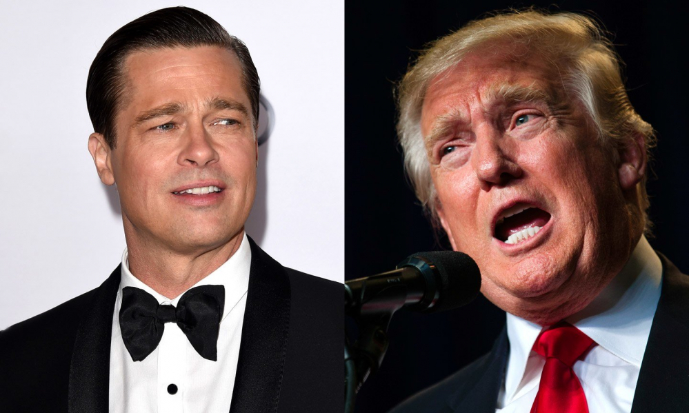 Brad Pitt Donald Trump