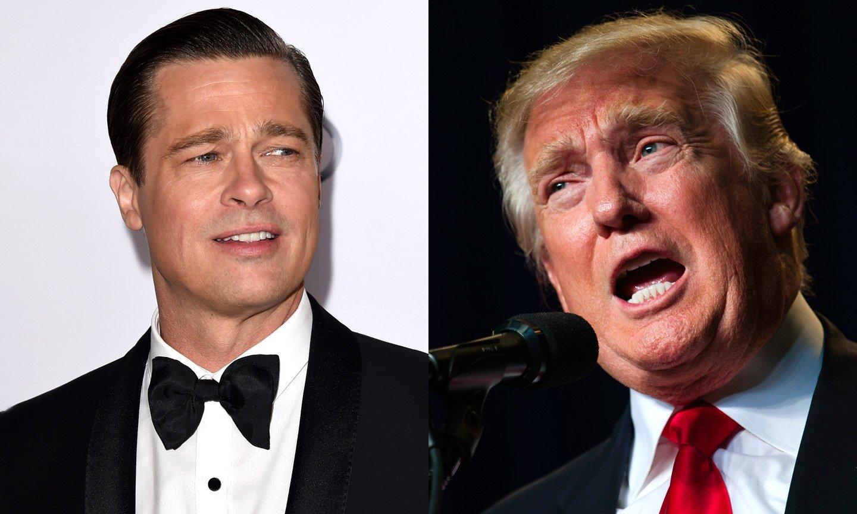 Donald Trump attacca anche Brad Pitt ed il suo discorso agli Oscar