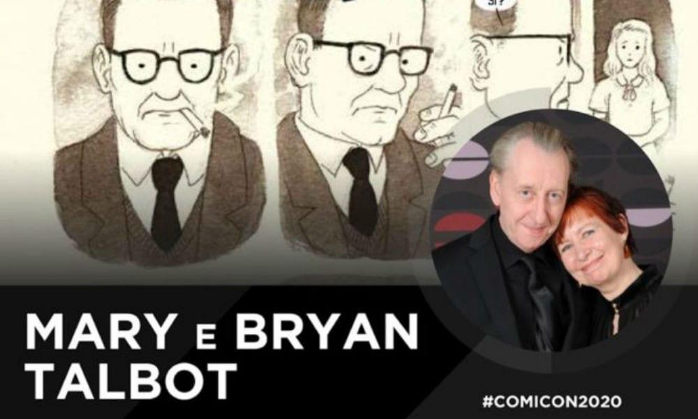 Comicon 2020, Bryan e Mary Talbot ospiti della manifestazione