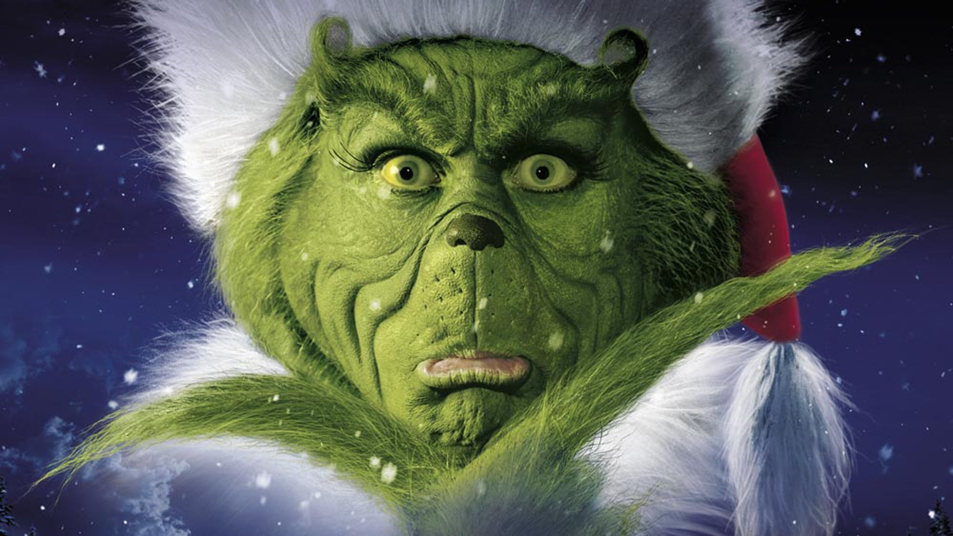 Jim Carrey, grinch