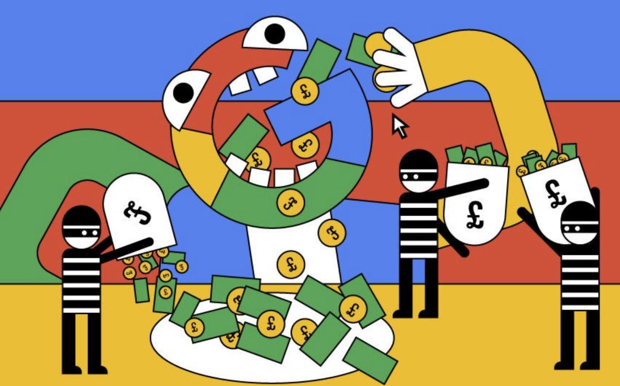 Google è infestato da pubblicità di finti investimenti e altre truffe