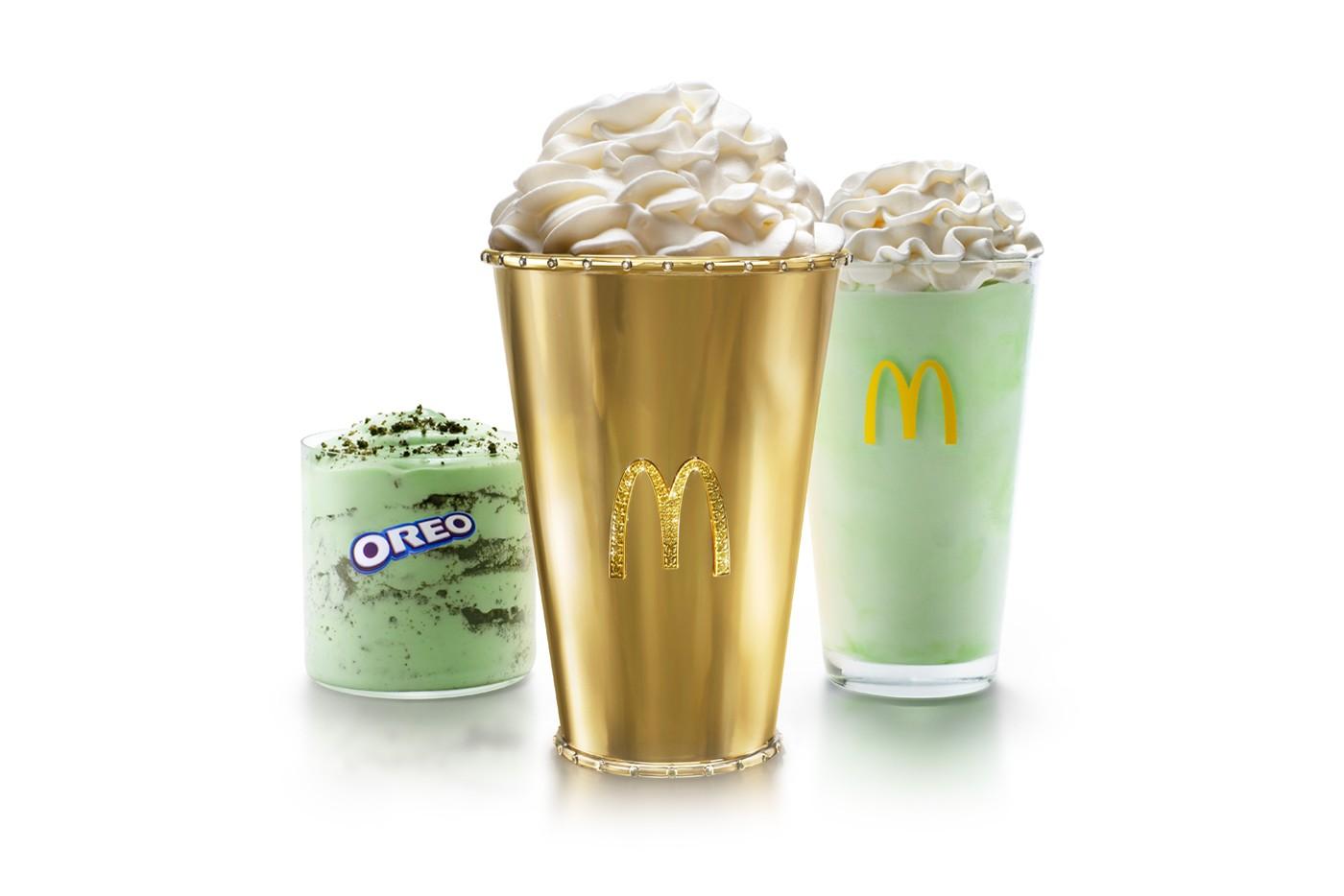 McDonald sta vendendo una coppa da milkshake d'oro da 100.000$